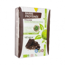 BARRES PROTEINEES 12X50G VIT'ALL+