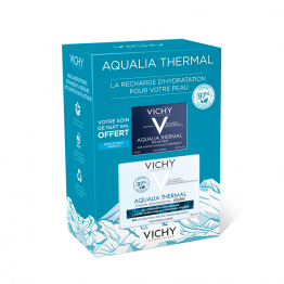 COFFRET CREME HYDRATANTE LEGERE 50ML AQUALIA THERMALE + GEL CREME NUIT 15ML AQUALIA THERMALE OFFERT VICHY