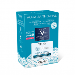 COFFRET CREME HYDRATANTE RICHE 50ML AQUALIA THERMALE + GEL CREME NUIT 15ML AQUALIA THERMALE OFFERT VICHY