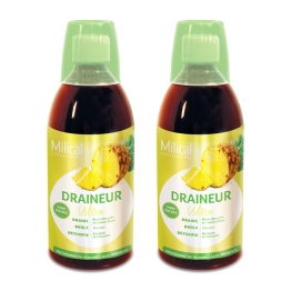 DRAINEUR ULTRA GOUT ANANAS 2X500ML MILICAL