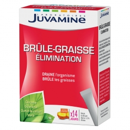 JUVAMINE BRULE GRAISSE ELIMINATION 14 STICKS