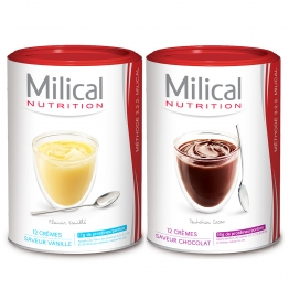 MILICAL CREME MINCEUR HYPERPROTEINE X12 PORTIONS