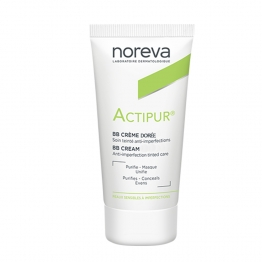 NOREVA ACTIPUR BB CREME DOREE PEAUX SENSIBLES A IMPERFECTIONS 30ML