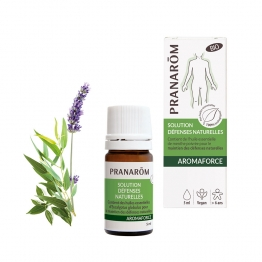 SOLUTION DEFENSES NATURELLES BIO 5ML AROMAFORCE PRANAROM